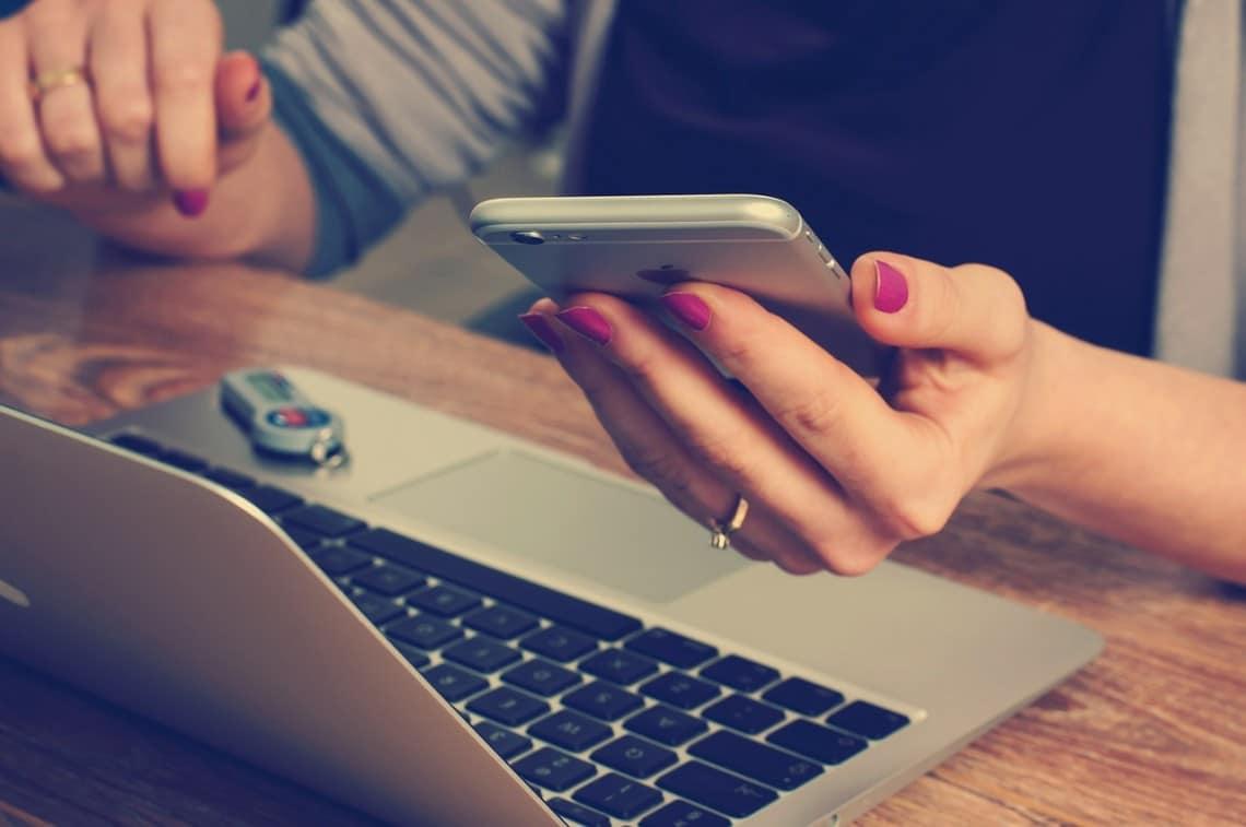Achat sur internet à partir de son mobile